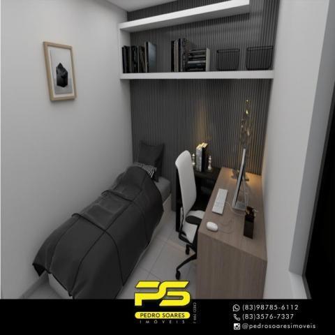 Apartamento com 2 dormitórios à venda, 61 m² por R$ 122.000 - Paratibe - João Pessoa/PB - Foto 15