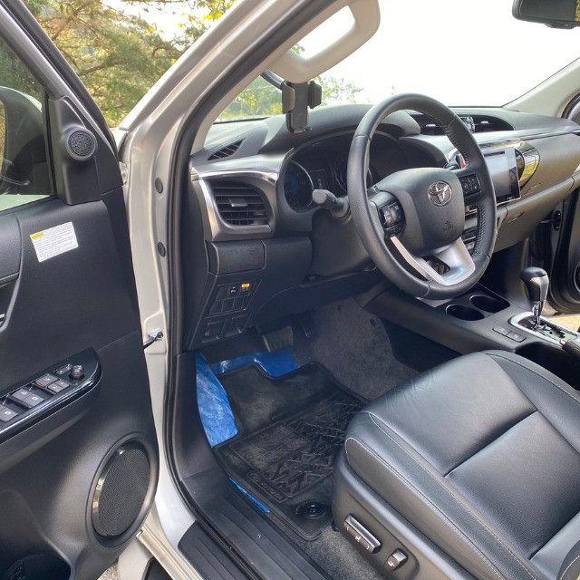 Toyota Hilux SRV Flex 2019 Aut - Foto 2