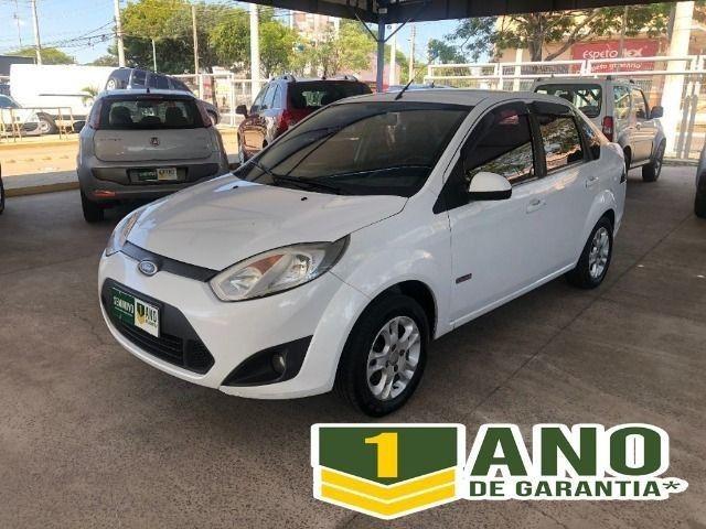Fiesta Sedam 1.6 Completo + GNV V geração ótimo estado geral entrada R$ 3990,00 + 48 X