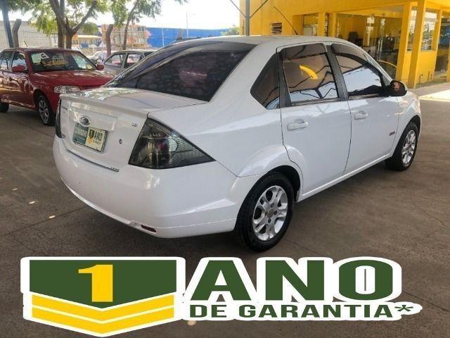 Fiesta Sedam 1.6 Completo + GNV V geração ótimo estado geral entrada R$ 3990,00 + 48 X - Foto 4