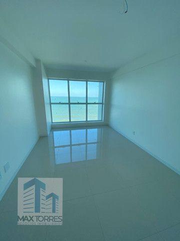 Edifício Green Village: beira mar de Guaxuma, 4 suítes, 222 m², varanda gourmet - Foto 6
