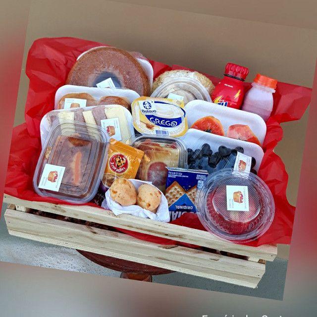 Cesta Box café da manhã / tarde - Foto 4