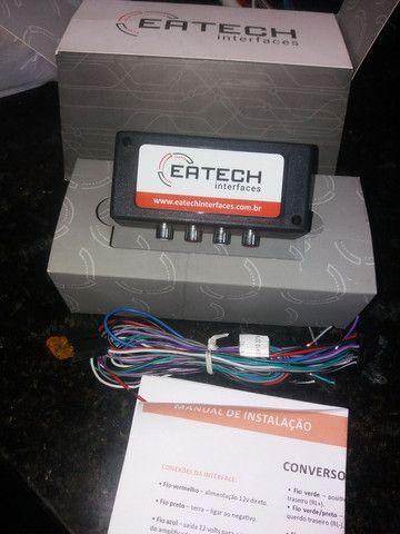 Interface conversor Rca eatech de alta qualidade