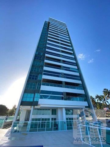Edifício Green Village: beira mar de Guaxuma, 4 suítes, 222 m², varanda gourmet - Foto 15
