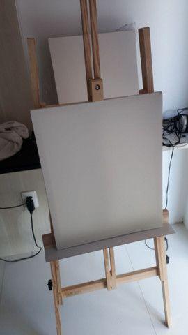 Kit de pintura a óleo completo