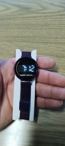 Relógio digital feminino touch watch - Foto 2