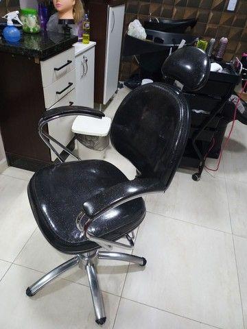Cadeira de cabeleireiro  - Foto 3