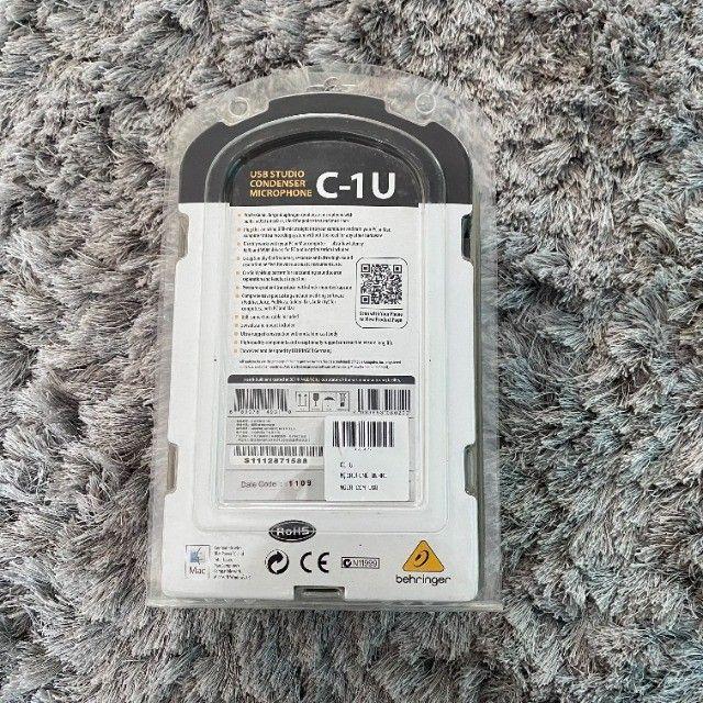 Microfone Behringer C-1u Condensador Usb - Foto 4