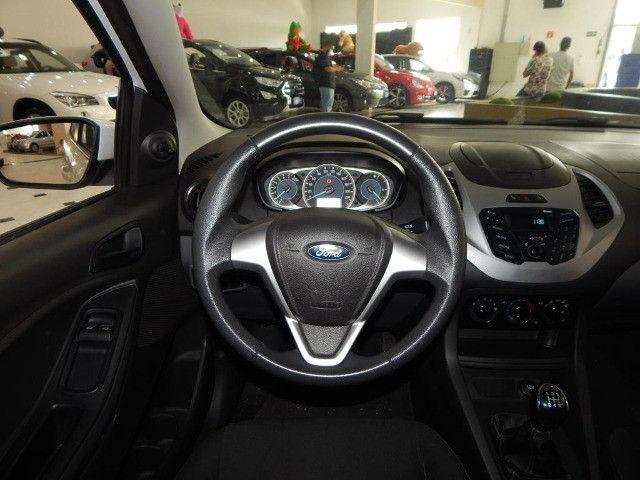 Ford Ka Hatch 1.5 SE Sigma Flex Completo C/ Pneus Novos Só 63.400 Kms - Foto 9