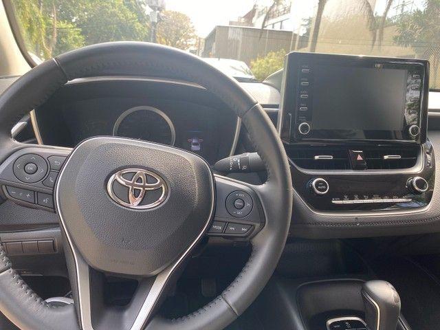 Toyota Corolla Xei Blindado 3000km 2021 - Foto 6