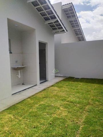 Casa com 2 dormitórios à venda, 71 m² por R$ 189.000,00 - Timbu - Eusébio/CE - Foto 16