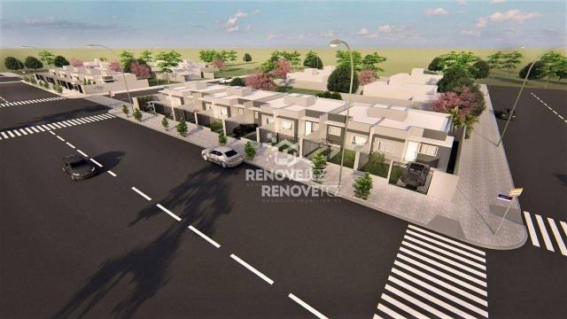 Casa com 2 dormitórios para alugar, 50 m² por R$ 1.150,00/mês - Jardim Residencial Catarat - Foto 4