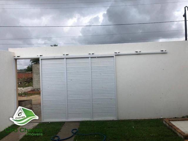 Casa com 2 dormitórios à venda, 80 m² por R$ 135.000 - Bairro: Novo Ancuri - Itaitinga/CE - Foto 2