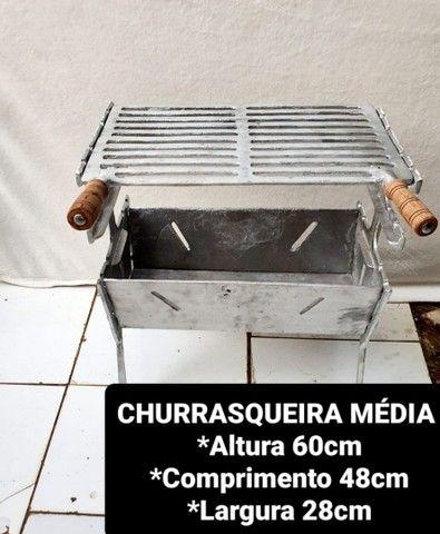 VARIADOS TAMANHOS E MODELOS CHURRASQUEIRAS A PRONTA ENTREGA  - Foto 4