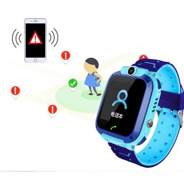 Relógio Inteligente Infantil Criança Rastreador C/câmera Anti-lost Sos Smartwatch - Foto 3