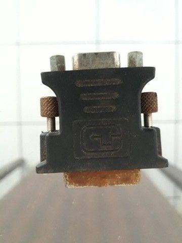 Vendo adaptador de placa de vídeo Dvi para Vga - Foto 4