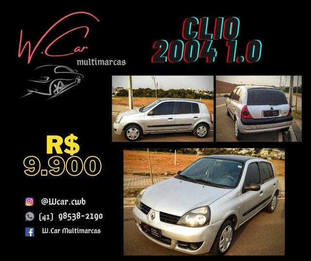 Clio 2004 1.0 4 portas - Foto 4