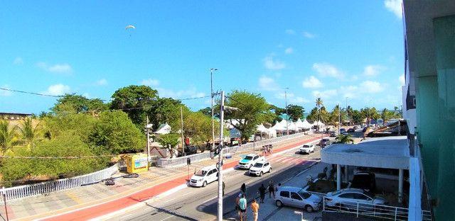 (AP0921) Apartamento beira mar, com 34m², 1 suíte, varanda vista mar - Tambaú - Foto 9