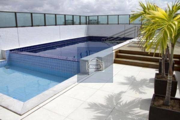 Apartamento com 1 dormitório para alugar, 35 m² por R$ 1.900/mês - Boa Viagem - Recife/PE - Foto 14