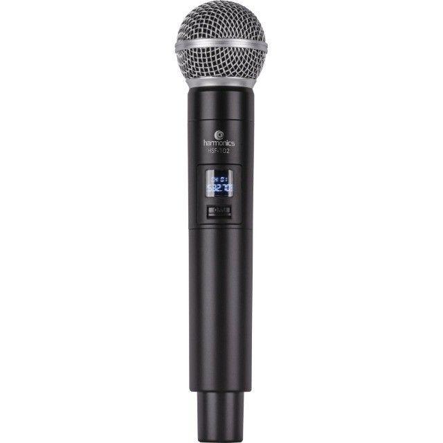 Microfone sem Fio de Mão uhf HSF-101 Harmonics - Foto 3