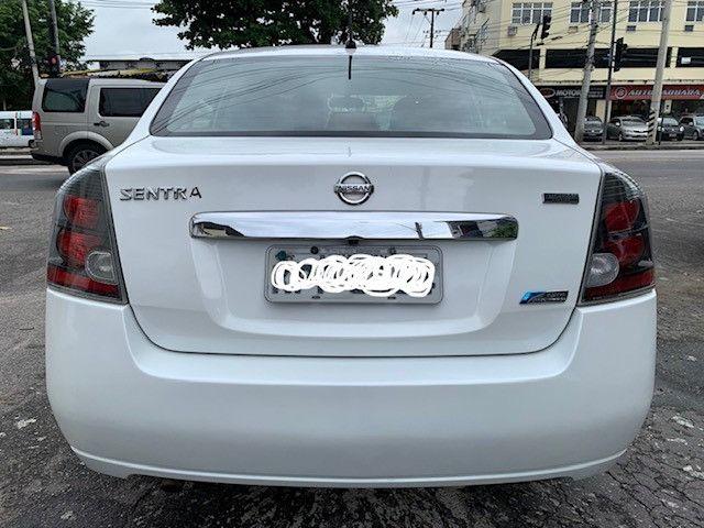 Nissan Sentra 2013 S Automatico + Ipva 2021 Pago + Bc de Couro - Foto 6