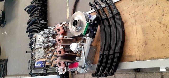 kit para carreta trucada com freio nas 4 rodas  - Foto 2