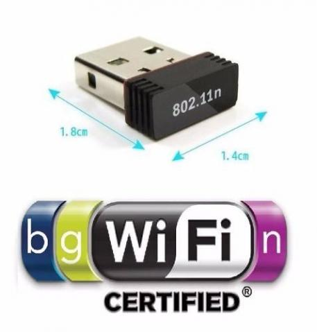 Mini Adaptador Receptor Wifi USB 950mbps