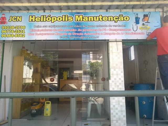 J.C.N.Heliopolis manutenção