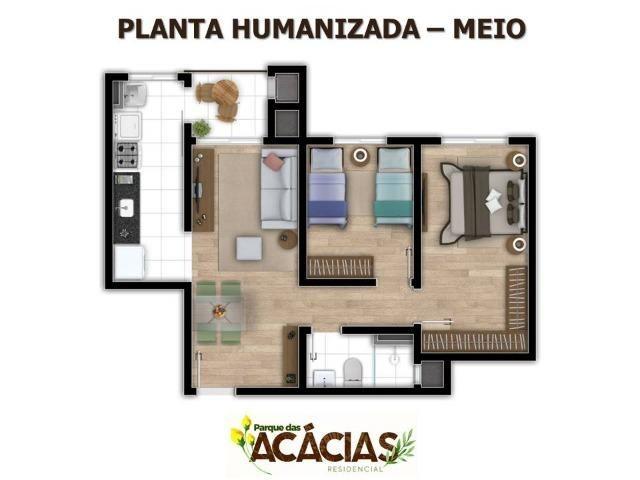 Apartamento 02 Dormitórios No Colonia Rio Grande - Foto 6