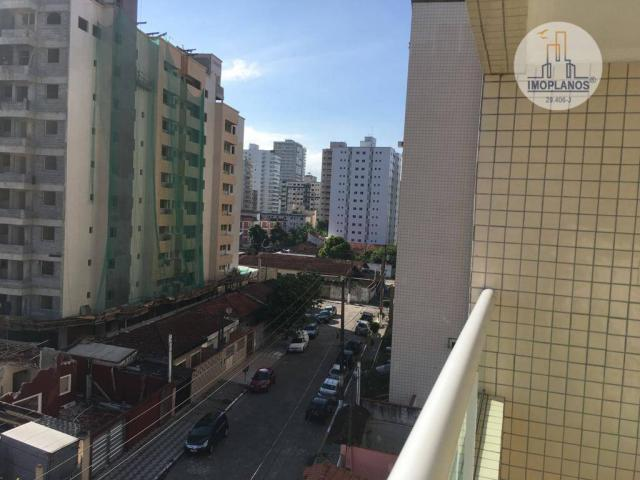Apartamento com 2 dormitórios à venda, 76 m² por r$ 270.000 - campo da aviação - praia gra - Foto 7