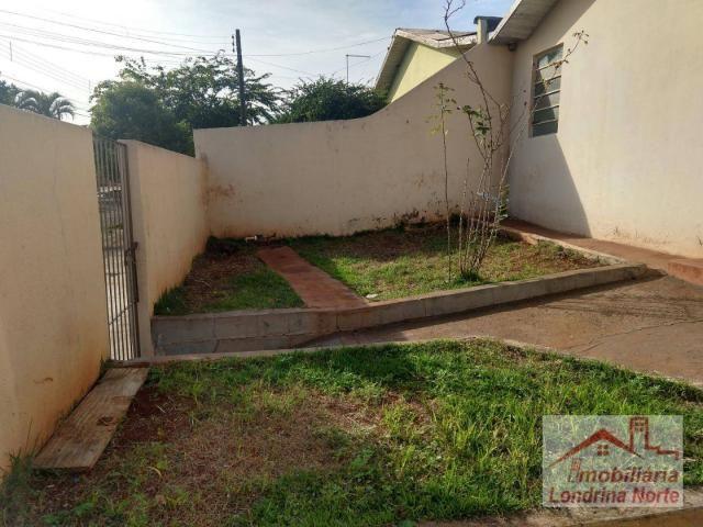 Casa com 3 dormitórios para alugar, 65 m² por R$ 650/mês - Conjunto Vivi Xavier - Londrina - Foto 3