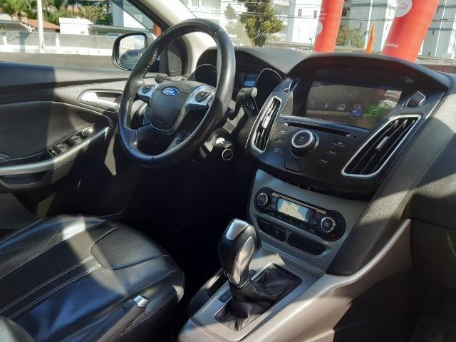 Ford Focus 2015 Automático Top !! - Foto 8