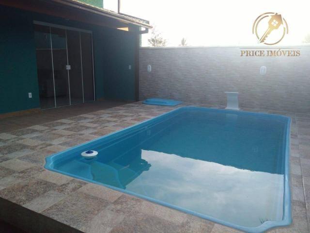 CA2001 Casa com 2 dorm à venda, por R$ 160.000 - Piscina Unamar - Cabo Frio/RJ - Foto 3