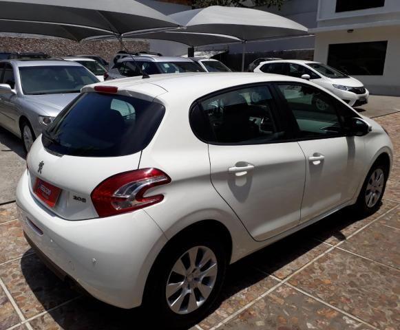 Peugeot 208 2015 1.5 Active Branco Unica Dona Emplacado - Foto 4