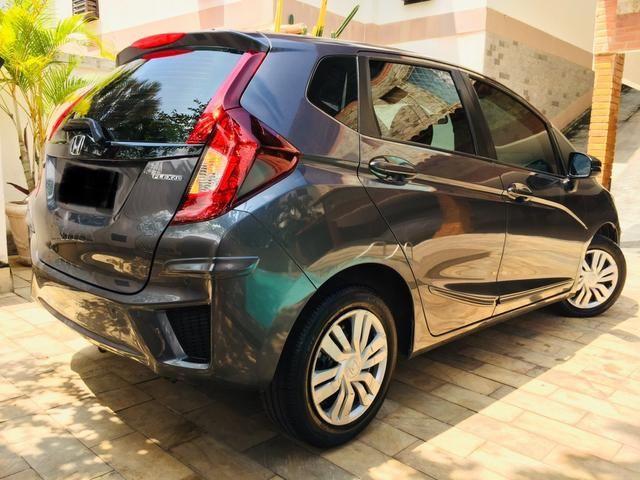 Honda Fit automático com couro e multimedia, ún.dona com 60 mil km!!!! - Foto 8