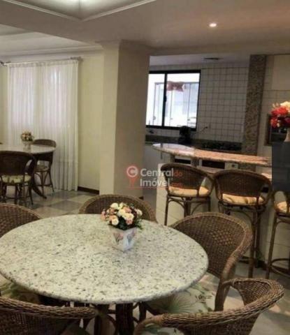 Apartamento com 3 dormitórios para alugar, 131 m² por R$ 500,00/dia - Centro - Balneário C - Foto 15
