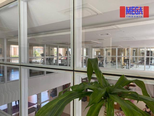 Apartamento com 2 dormitórios para alugar, 72 m² por R$ 2.700,00/mês - Porto das Dunas - A - Foto 6