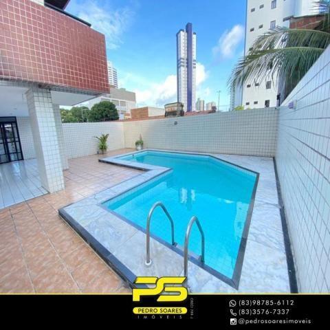 Apartamento com 3 dormitórios à venda, 118 m² por R$ 460.000 - Manaíra - João Pessoa/PB - Foto 2