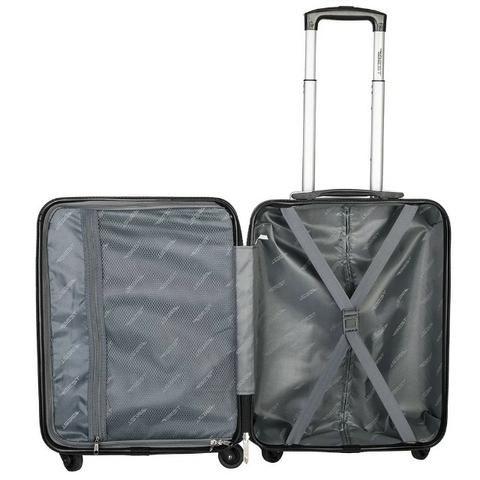 Mala de Bordo Exec. Bordô para Notebook ABS Roda Dupla 360º Cadeado TSA - Best - Foto 3