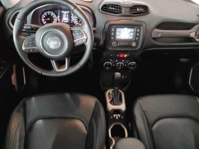 RENEGADE 2018/2018 1.8 16V FLEX LONGITUDE 4P AUTOMÁTICO - Foto 8