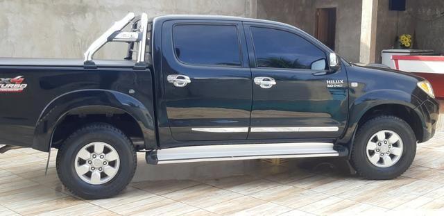Toyota hilux 2007/2007 srv 4x4 3.0 automatica