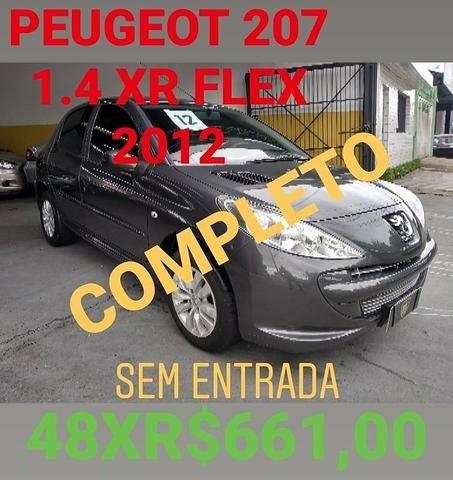 Peugeot 207 XR 1.4 Flex 2012 Completo - Foto 8