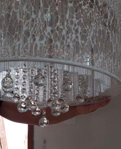 Luminária de cristal
