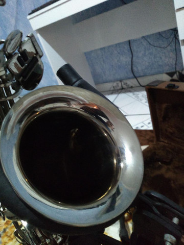 Sax alto weril master lindo original de fábrica  - Foto 4