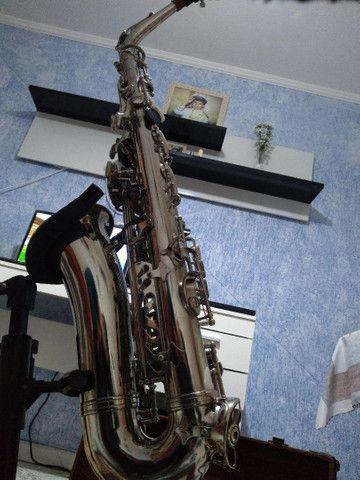Sax alto weril master lindo original de fábrica