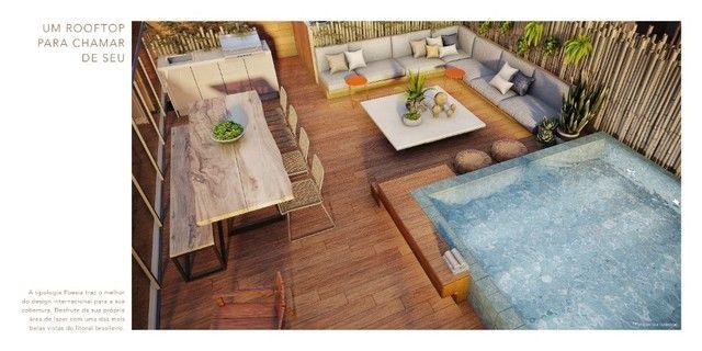 GN- Lançamento beira mar Muro Alto, 2qts c/ piscina e rooftop privativo.