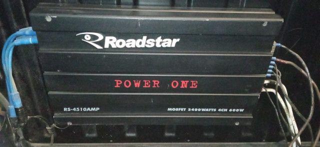 "Módulo Power One 1200 Watts, Sub Bravox UXP 12"" 500 RMS, Par 69 Bravox E Booster - Foto 4"