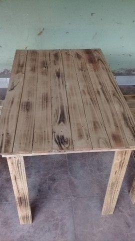 Mesa de palete  - Foto 3