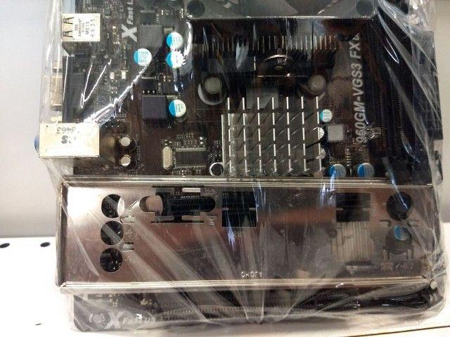 Placa Mãe Asrock 960GM-VGS3 + Processador Phenom X4 - Foto 4