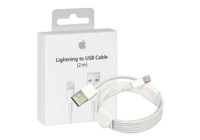 Cabo de Dados USB Apple Lightning Original de 2M para IPhone - Foto 2